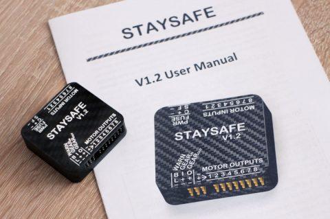 Staysafe drone safety device